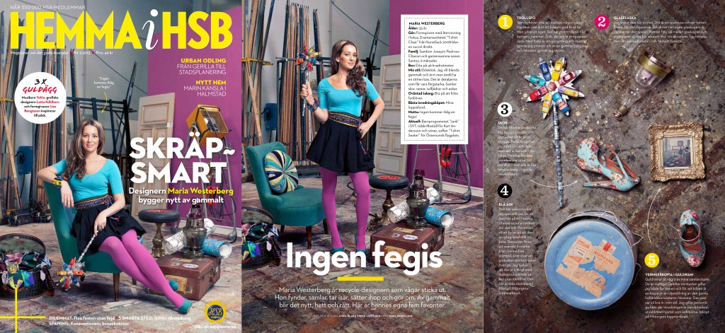 HSB magazine cover, march 2013